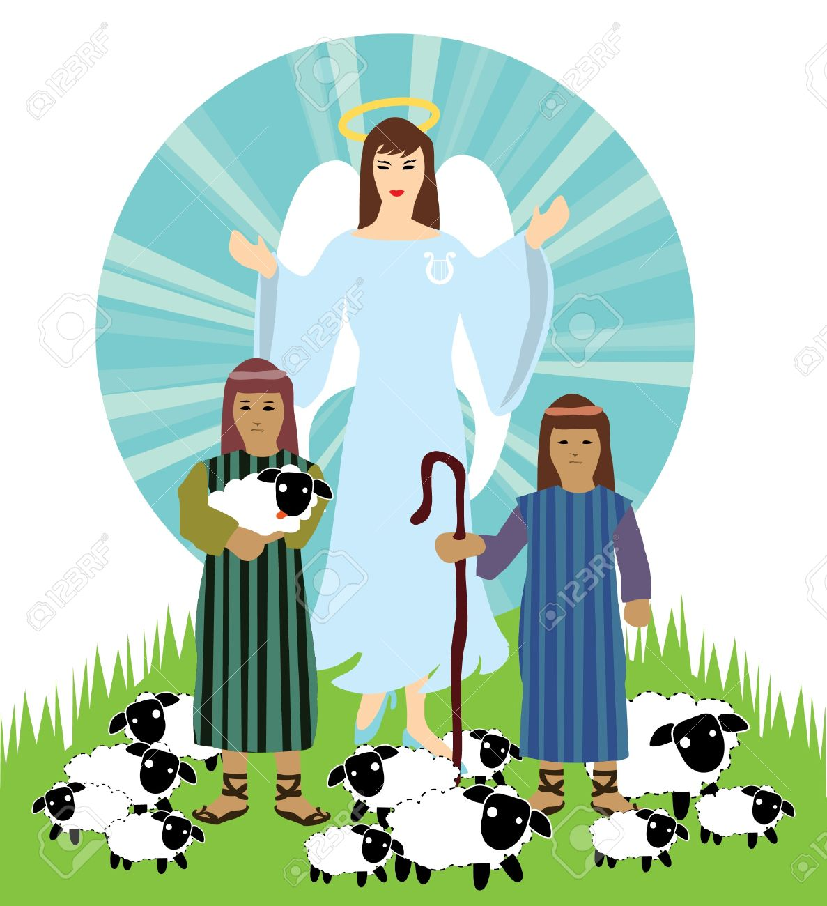 hight resolution of christmas nativity scene angel and shepherd royalty free cliparts jpg 1187x1300 nativity shepherds clipart