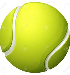 single light green tennis ball illustration [ 1300 x 1293 Pixel ]