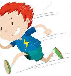 boy running very fast illustration stock vector 48543510 [ 1300 x 1128 Pixel ]