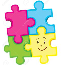 jigsaw puzzle pieces with happy face illustration stock vector 49650697 [ 1101 x 1300 Pixel ]