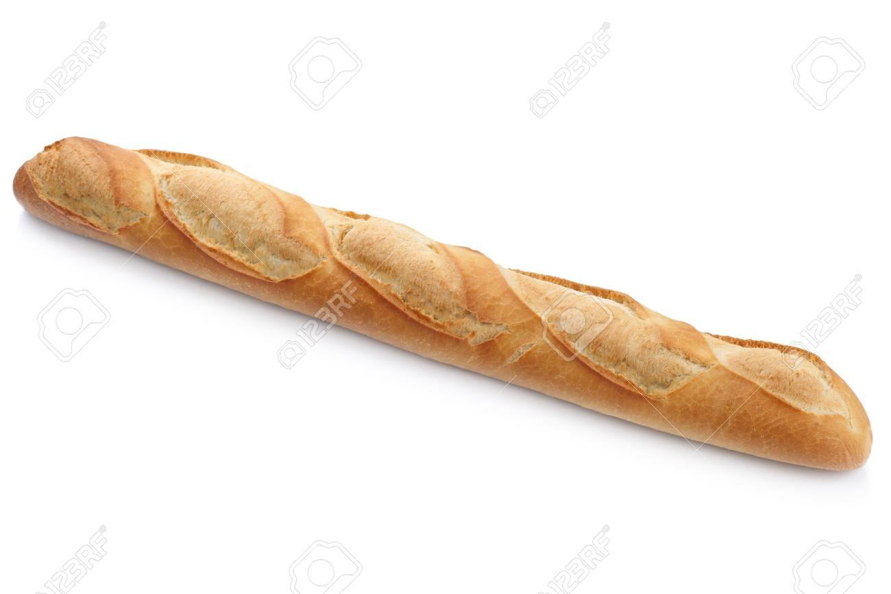 francais baguette de pain blanc isole sur un fond blanc boulangerie banque d images et photos libres de droits image 55047115