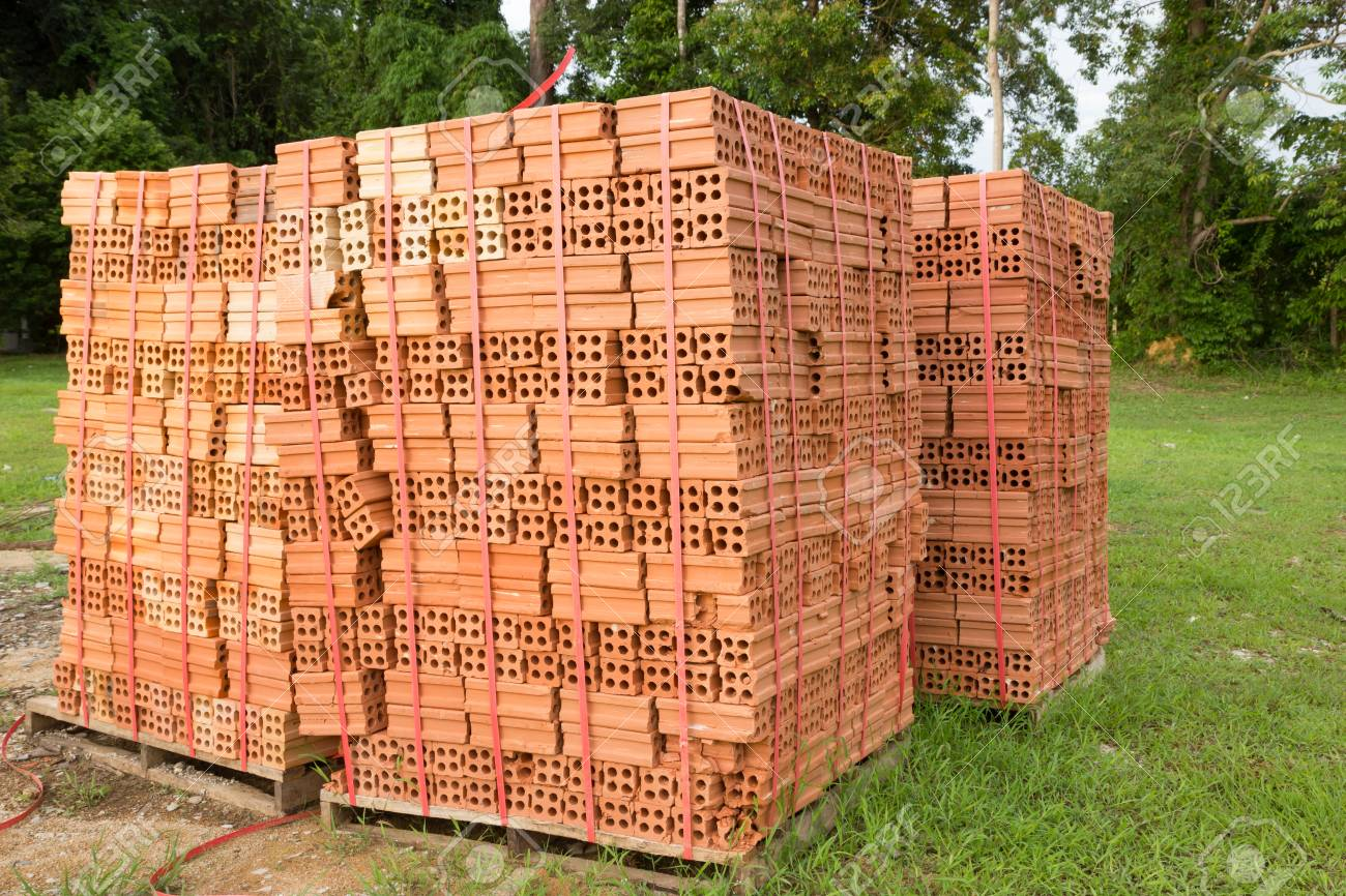 Stack Of Bricks For Construction Stock Photo Picture And Royalty Free Image Image 29172781