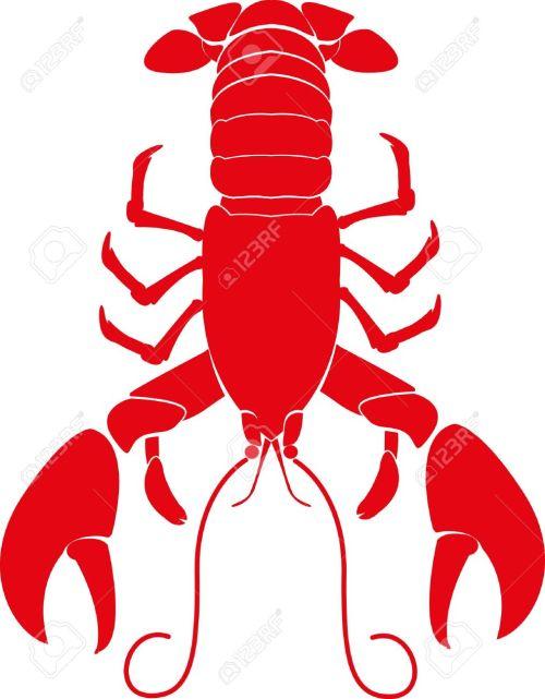 small resolution of lobster stock vector 22200075