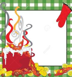 crawfish boil invitation stock vector 9829924 [ 1300 x 1300 Pixel ]