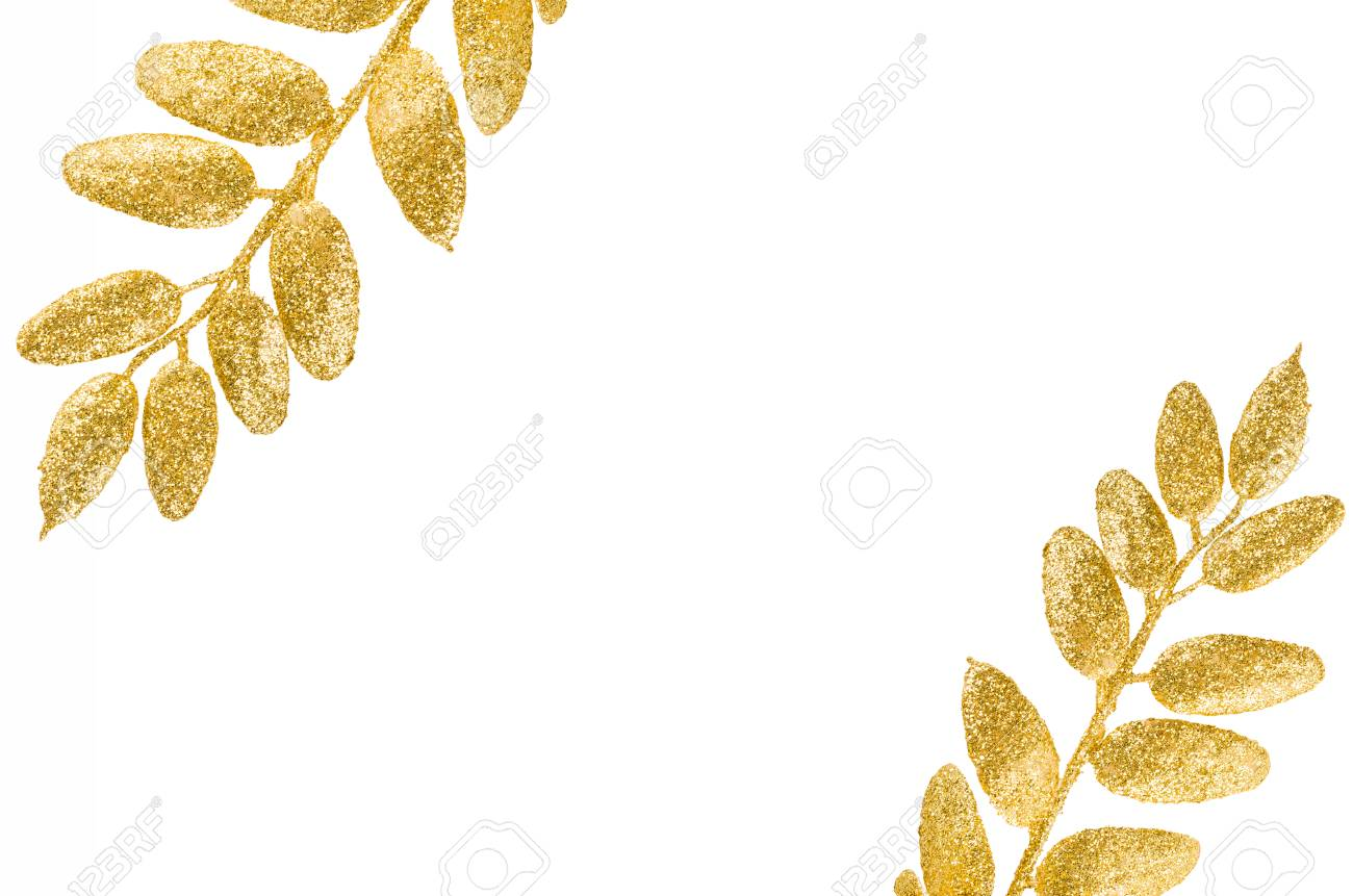 frame from gold leaf