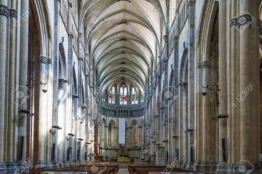 Vienne Cathedral Is A Medieval Roman Catholic Church In The City Stock Photo Picture And Royalty Free Image Image 132985274