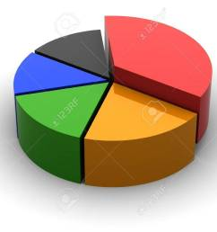3d circular diagram on white background stock photo 21454166 [ 1300 x 975 Pixel ]