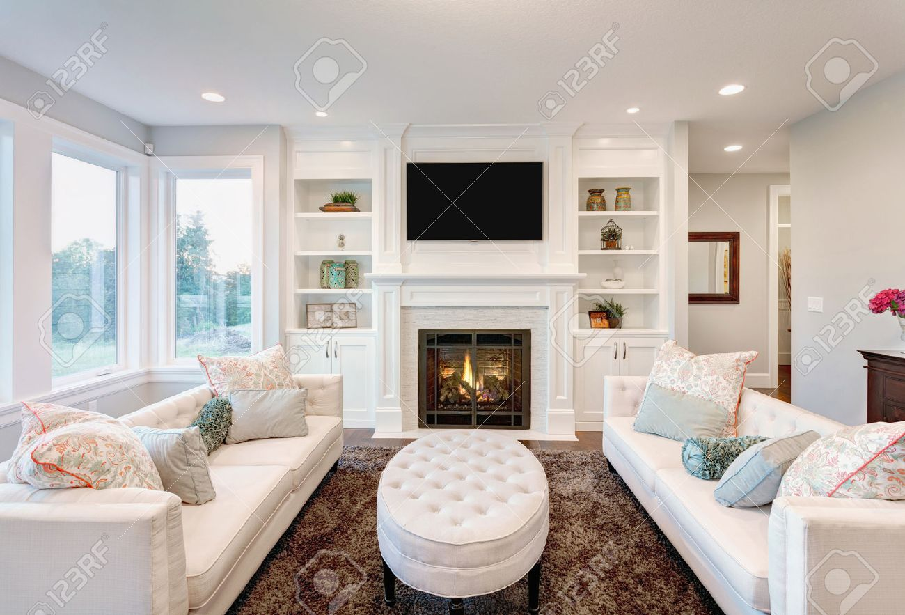 beautiful living room images pictures of wood floors in rooms with fireplace new luxury home stock photo 44866325