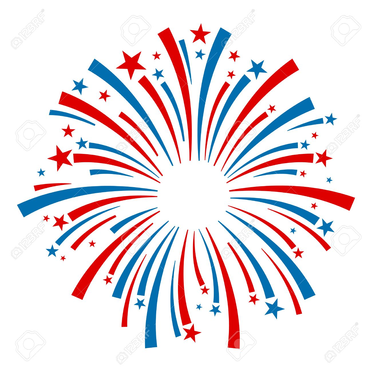 hight resolution of fireworks vector icon