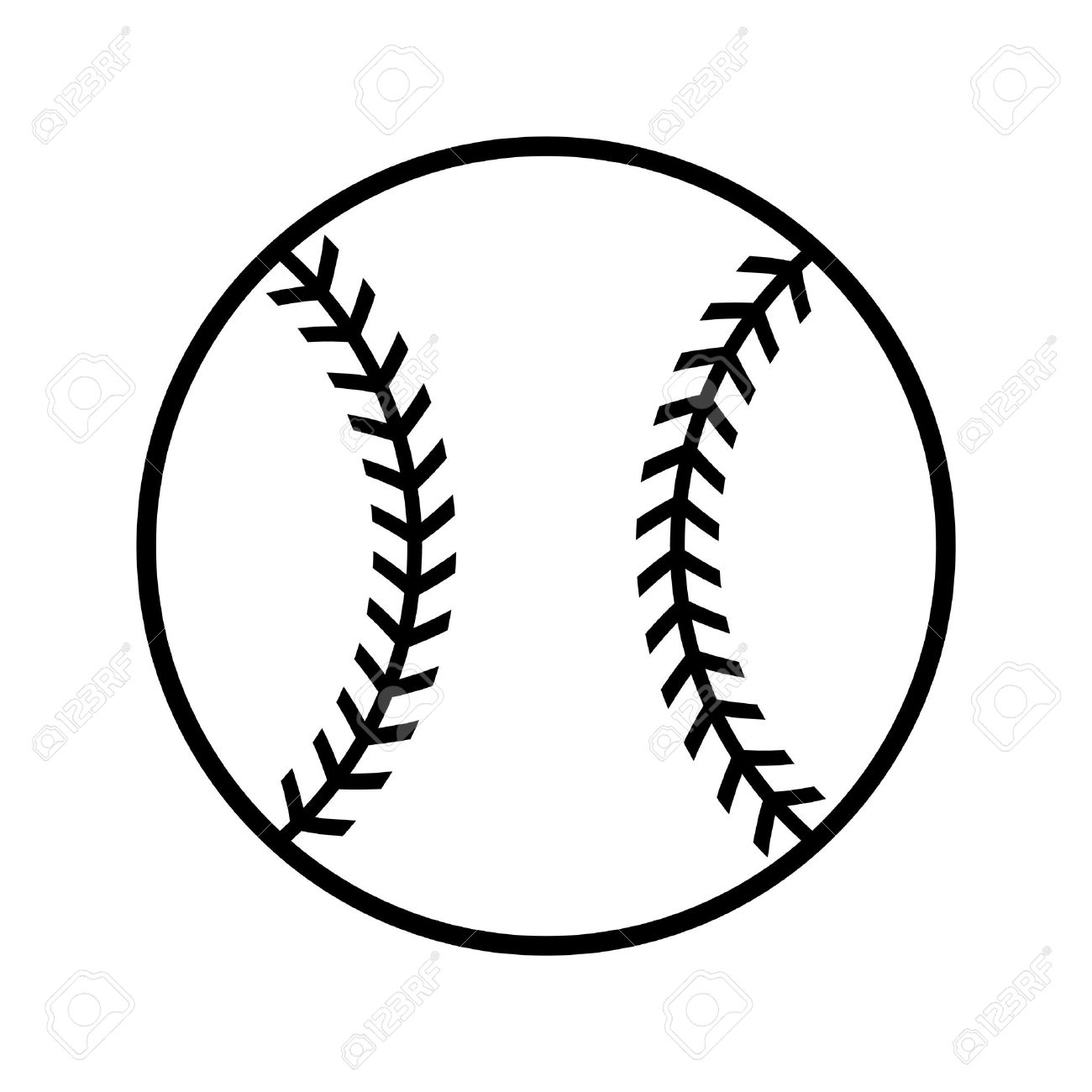hight resolution of baseball vector icon