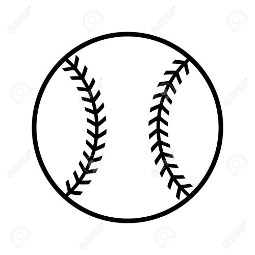 small resolution of baseball vector icon