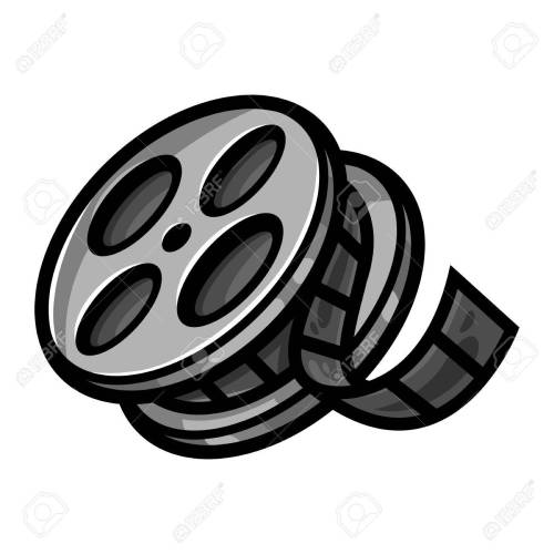 small resolution of movie film reel stock vector 51883561