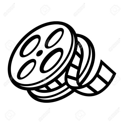 small resolution of movie film reel stock vector 51883562