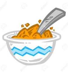 bowl of cereal icon stock vector 65864014 [ 1300 x 1300 Pixel ]