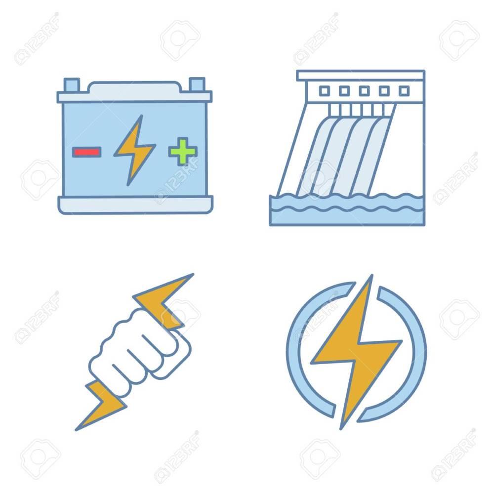 medium resolution of accumulator hydroelectric dam power fist lightning bolt