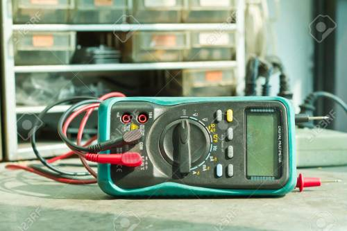 small resolution of checking circuit by multi meter electrical engineer on during c stock photo 17914394