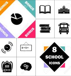 diagram icon and set perfect back to school pictogram contains building diagram icon [ 1300 x 1300 Pixel ]
