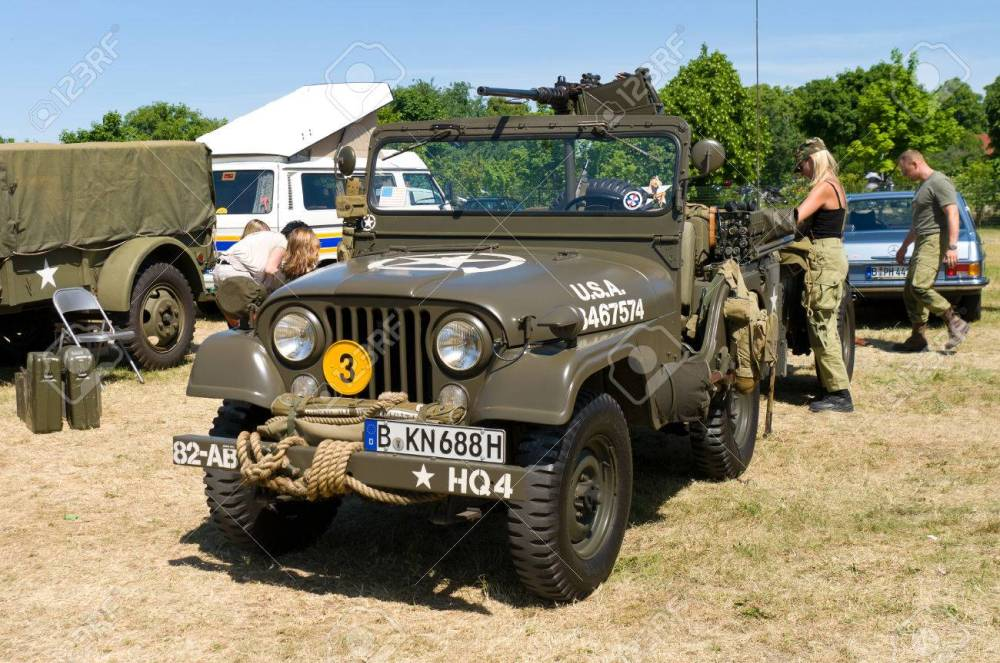 medium resolution of car willys m38a1 us army jeep the oldtimer show in mafz may 26