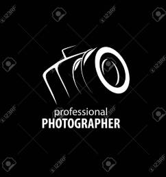 vector logo template for a photographer or studio illustration [ 1300 x 1300 Pixel ]
