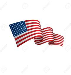 usa flag vector illustration on a white background stock vector 92845430 [ 1300 x 1300 Pixel ]