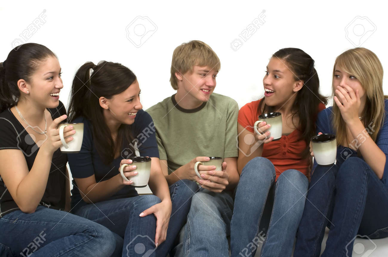 Image result for Image of drinking coffee-tea.