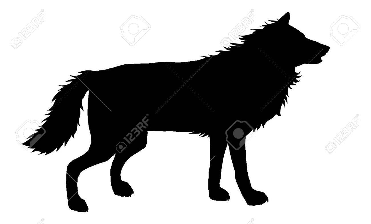 wolf silhouette 5