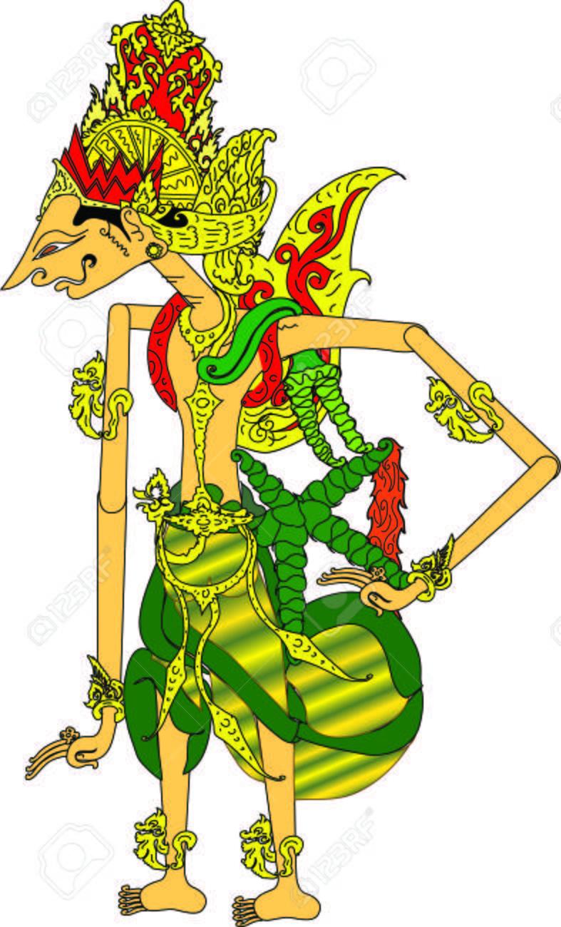 Wayang Rama Vector : wayang, vector, Wayang, Character,, Indonesian, Traditional, Shadow, Puppet, Royalty, Cliparts,, Vectors,, Stock, Illustration., Image, 120352593.