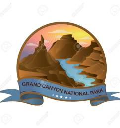 grand canyon national park stock vector 51366515 [ 1300 x 1300 Pixel ]