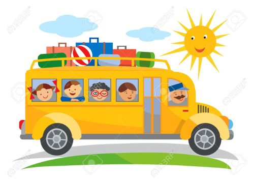 small resolution of school bus school trip cartoon cartoon of yellow school bus traveling on a school trip