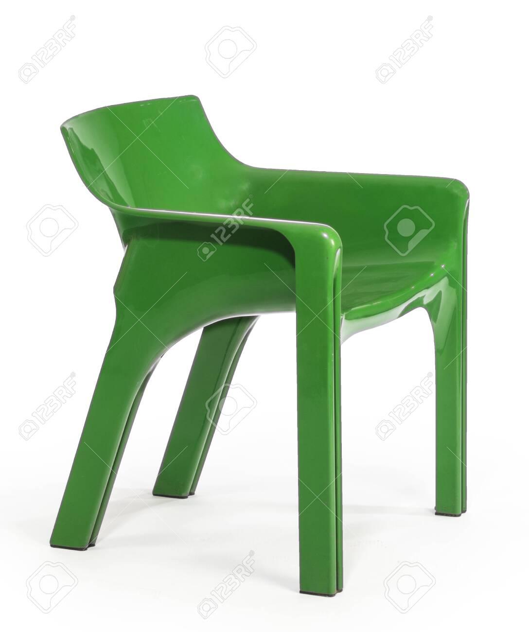 https www 123rf com photo 131363690 green plastic stackable outdoor garden patio arm chair html