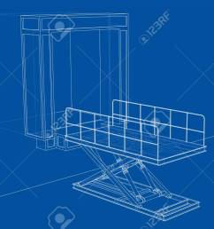 dock leveler concept stock photo picture and royalty free image dock leveler pit dock leveler schematic [ 1300 x 876 Pixel ]