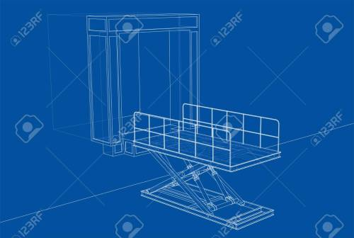 small resolution of dock leveler concept stock photo picture and royalty free image dock leveler pit dock leveler schematic