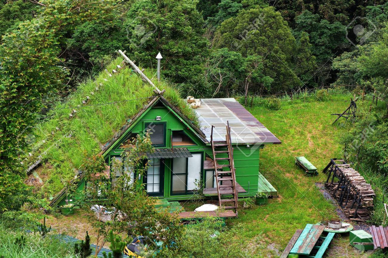 Green House In The Forest Garden Tribes In Hsinchu Taiwan