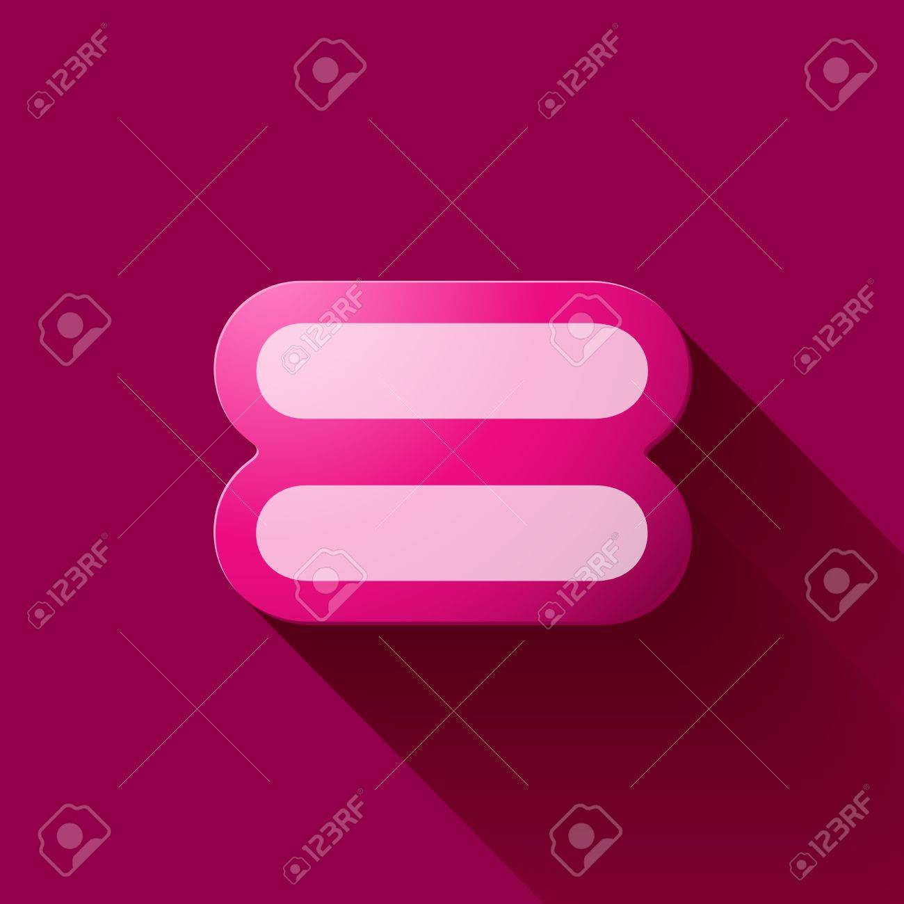 hight resolution of volume icons symbol equal sign colorful modern style stock vector 45032813