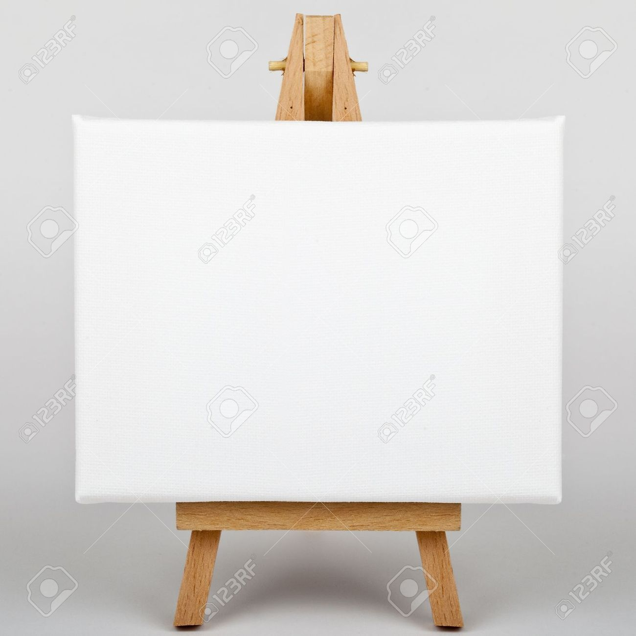 a white canvas on