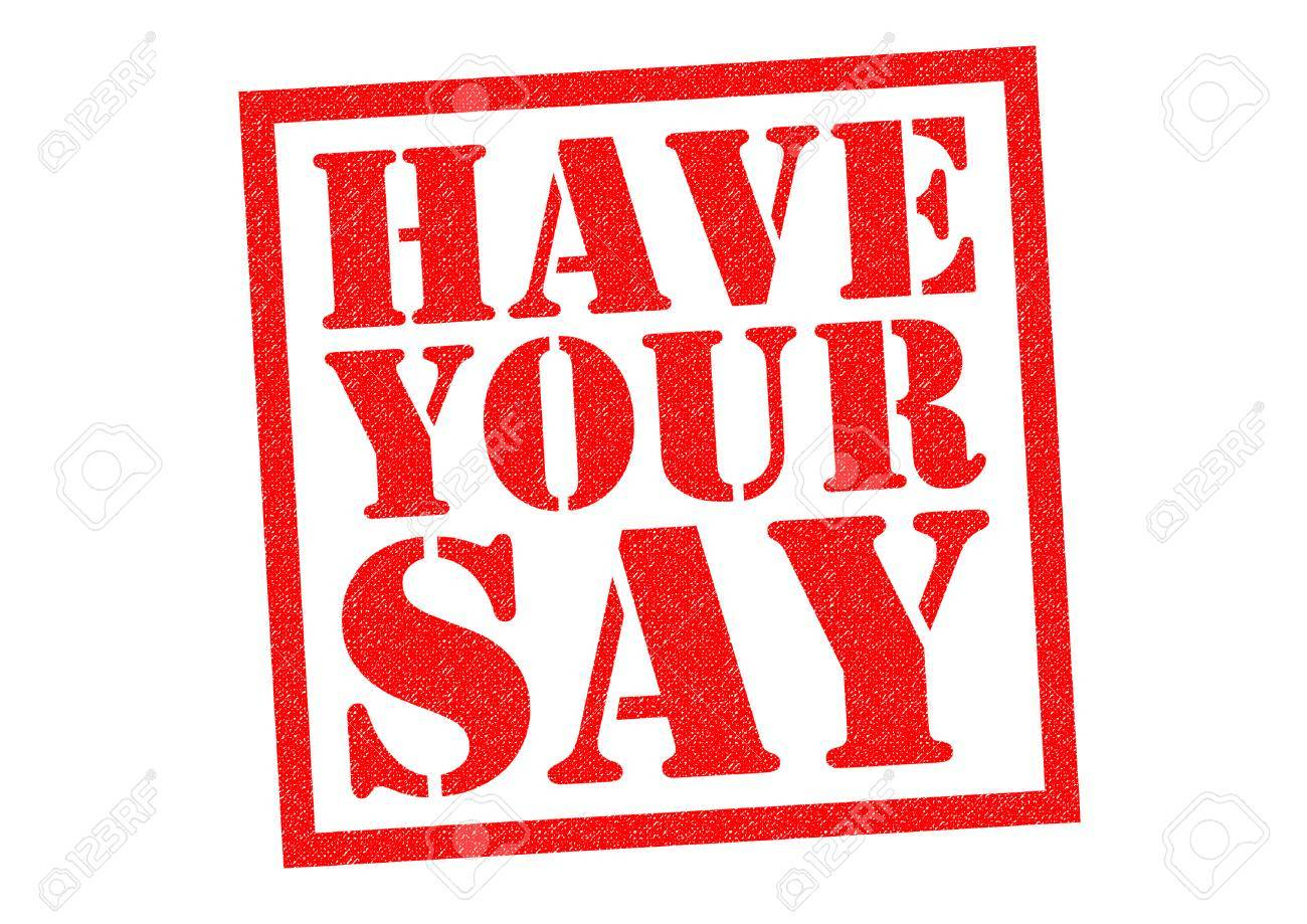 have your say red