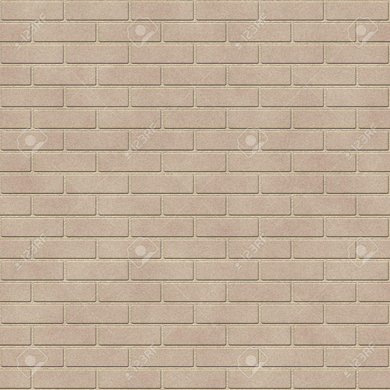 beige brick wall seamless