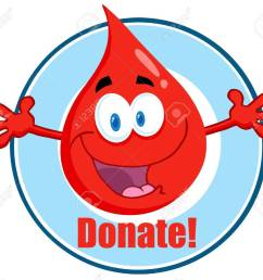 blood guy asking you to donate stock vector 12352837 [ 1300 x 1158 Pixel ]