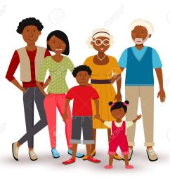 people collection happy multi generation family group with dad mom children and grandparents [ 1300 x 1131 Pixel ]