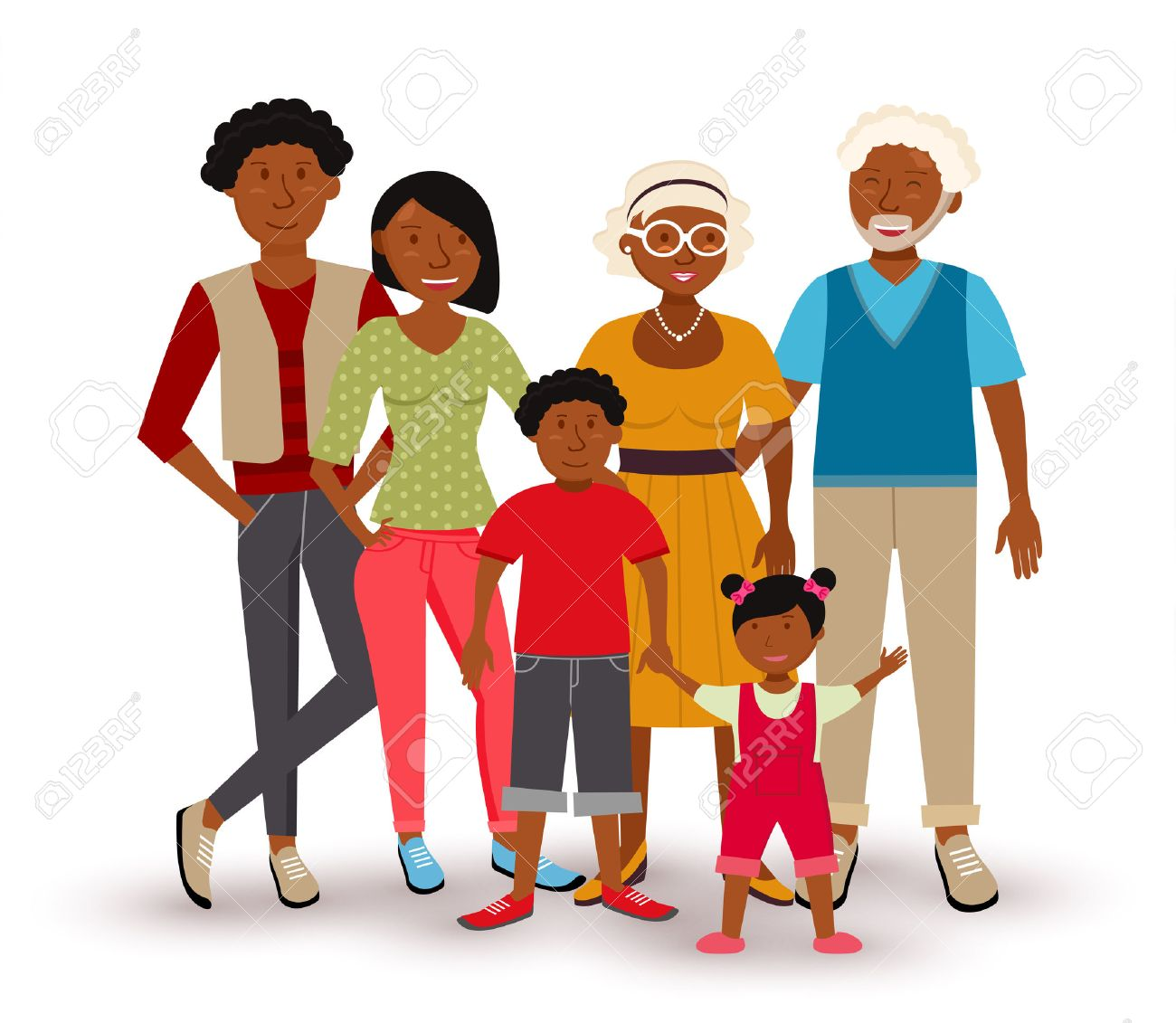 hight resolution of people collection happy multi generation family group with dad mom children and grandparents