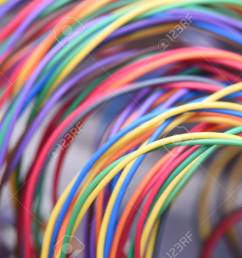 colorful electrical wire used in telecommunication internet cable network and computer system stock photo 65149083 [ 1300 x 867 Pixel ]