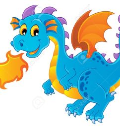dragon theme image 4 vector illustration stock vector 15045940 [ 1300 x 1039 Pixel ]