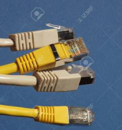 rj45 plug for lan local area network ethernet connection stock photo 96487720 [ 1300 x 975 Pixel ]