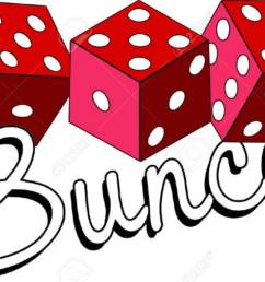 bunco starts with a roll of the dice what a fun visual for a favorite game [ 1300 x 861 Pixel ]