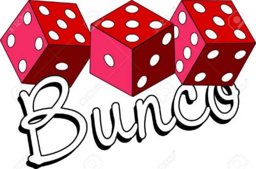 small resolution of bunco starts with a roll of the dice what a fun visual for a favorite game