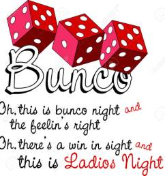 bunco starts with a roll of the dice what a fun visual for a favorite game [ 1250 x 1300 Pixel ]