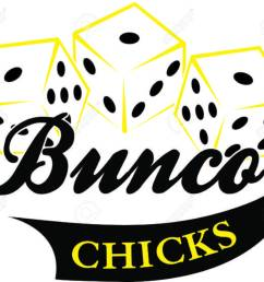 bunco starts with a roll of the dice what a fun visual for a the bunco [ 1300 x 1107 Pixel ]