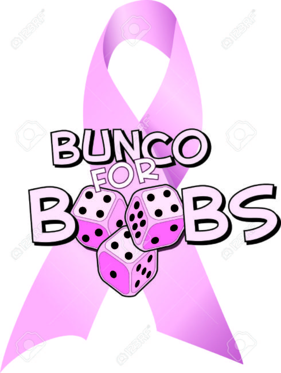 medium resolution of bunco starts with a roll of the dice pink dice no less these pink dice are