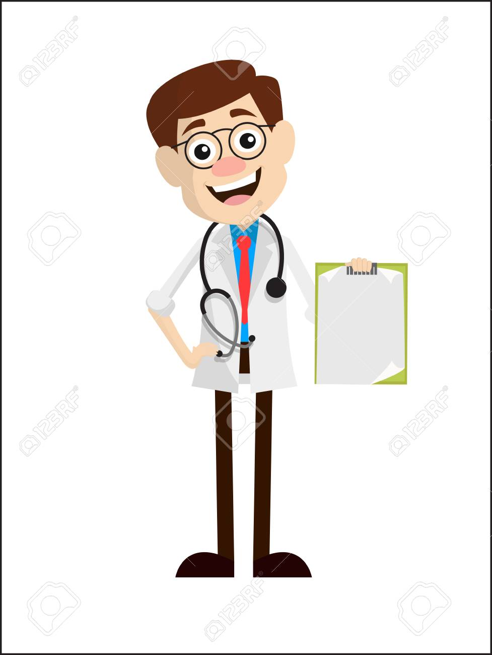 Dermatologist Clipart : dermatologist, clipart, Dermatologist, Doctor, Showing, Cardboard, Vector, Royalty, Cliparts,, Vectors,, Stock, Illustration., Image, 102644562.