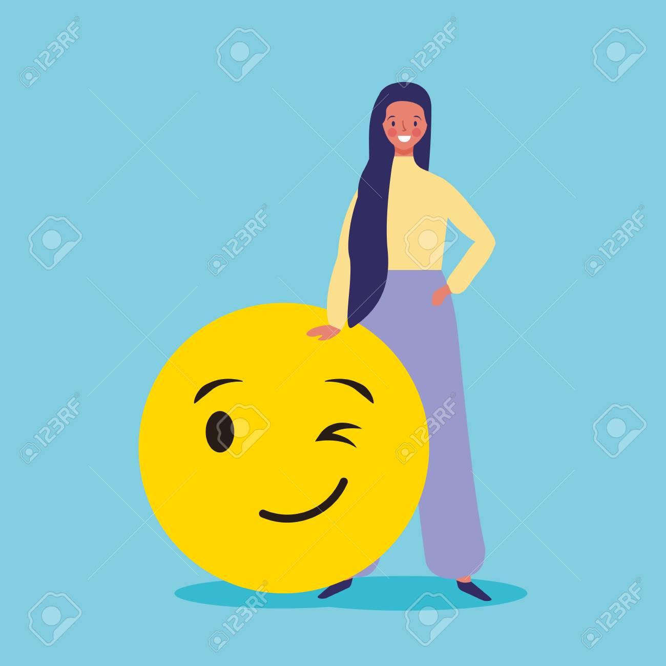 people and emojis woman